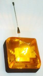Lampa sygnalizacyjna może także występować w wersji bez anteny.